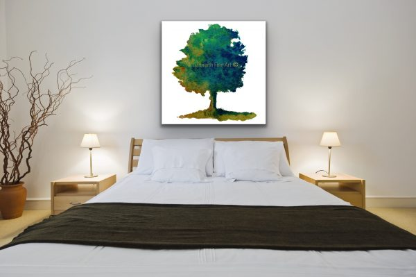 Lg Tree Over Bed