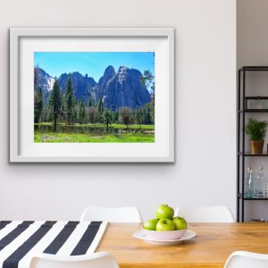 Yosemite Valley in Spring,; The Man In The Mountain. #3 in the Yosemite Series