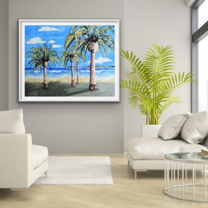 Daydreams; Palms, Beach, & Surf