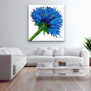 A Series of Single Flowers – Blue Flower (Copy)