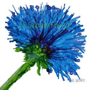 A Series of Single Flowers – Blue Flower (Copy)