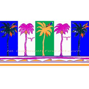 Five Party Palms – Exhibited in March 2020!