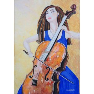 The Cellist's Sweet Note