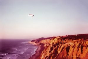 California Coastal Flight by NL Galbraith