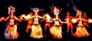 Read more about the article Four Pairs of Island Hula Dancers